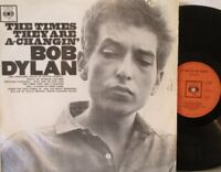 BOB DYLAN ~ The Times They Are A Changin ~ VINYL LP BPG 62251