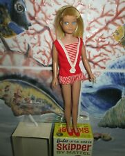 NIB~1963 JAPAN S/L *SKIPPER* DOLL~1st ISSUE~BLONDE~OSS~0950~HEADBAND~PERFECT BOX