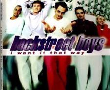 Backstreet Boys - I Want It That Way ( Maxi Cd , 1992 )