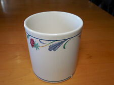 Lenox Chinastone POPPIES ON BLUE Mini Canister 4 in NO LID