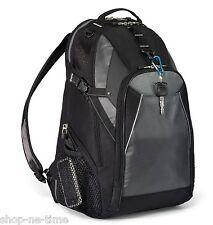 "Vertex 15"" Laptop / MacBook Pro Rugged Gray/Black Backpack II Work / School -New"