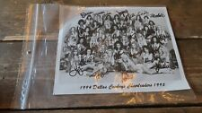 "1994-95 COWBOYS CHEERLEADERS 100% AUTHENTIC AUTOGRAPHED 16""x8"" PHOTO"