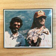 George Lucas Steven Spielberg Signed Autographed Photo