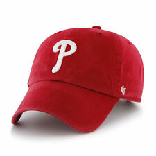 Philadelphia Phillies '47 Brand Red Clean Up Adjustable Hat