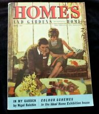 Homes und Gardens Magazin April 1964 Midwinter, Hirsch Möbel