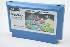 Famicom DEVIL WORLD Cartridge Only Nintendo Import JAPAN Game fc