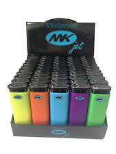 50 Full MK JET Cigarette Lighters multi colors High Quality