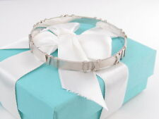 Tiffany Co Silver Atlas Bangle Packaging Box Pouch