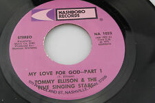 Tommy Ellison: My Love for God / part 2  [Unplayed Copy]