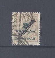 Dt. Reich Dienst Mi.Nr. 84, 2 Mrd. Freimarke 1923 gestempelt geprüft BPP (34632)