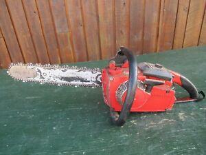 "Vintage HOMELITE VI 130 Chainsaw Chain Saw with 15"" Bar"