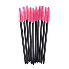 100 Disposable Mini Eyelash Brush Mascara Wands High Quality Pink K5r3