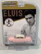 Elvis 1955 Pink Cadillac Fleetwood Series 60 1:64 Greenlight 44740C
