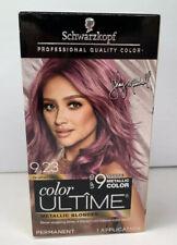 Schwarzkopf color ULTÎME Metallic Hair Color Cream - 9.23 Brushed Berry