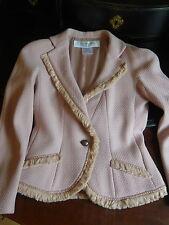 Manteaux Ebay En Femme Rose Pour Et Soie Vestes qrZOFPxq