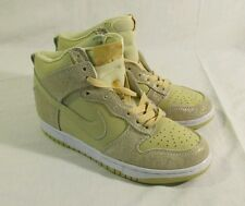 Nike Womens Dunk Hi 08 Grain Gold 407922-202 New without Box Size 8
