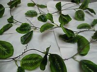 PREMIUM 9FT GREEN GARLAND/LEAVES/FOLIAGE/artificial  ivy plant trailing/VINE