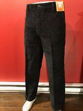 DOCKERS Men's Black Classic D3 Saturday Khaki Corduroy Pant - Size 36W x 30L NWT