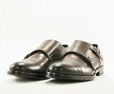 Pal Zileri Brown Double Monk Strap Shoes Size 8.5 US/41.5 UK MSRP $775