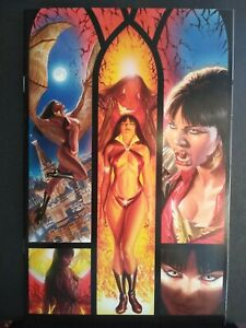 VAMPIRELLA #1 NM- 9.2 SCARCE ALEX ROSS VIRGIN VARIANT HOT DYNAMITE 2010 VAMPIRE