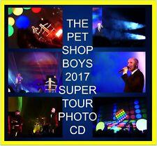 PET SHOP BOYS SUPER TOUR 1300 PHOTO CD CONCERT LIVE SET 1 & 2
