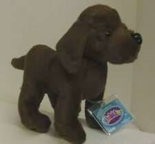 Cocoa Chocolate Lab size 9in Webkinz pet dog with sealed unused code MWMT HM689