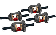4 Lego Differentials Kit  (technic,car,truck,gears,mindstorms,nxt,robot,tank)