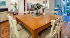 Dining Table - 8 seater square - 1.5mx 1.5m - strong timber table