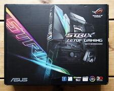 Asus Strix Z270F Gaming Motherboard with Aura Sync RGB DDR4 3866MHz Dual M.2