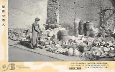C4067) MACIURIA, CINA, VENDITORE DI CESTINI. MANCHURIA, CHINA, SALLER OF BASKETS