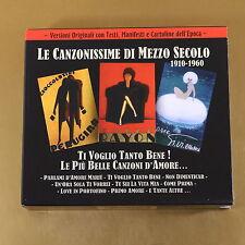 [AL-189] CD -  LE CANZONISSIME DI MEZZO SECOLO - 1910/1960 - 2010 - OTTIMO