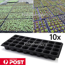 10 Seedling Seed Propagation Starter Trays Pots Garden Plant Germination 32 Cell