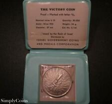 1967 Israel The Victory Coin 10 Lirot Silver Proof Medal .935 SKU-485