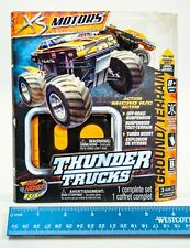 Micro Rc Spin Master Tomy Air Hogs Rc Thunder Trucks Orange B Band New Sealed