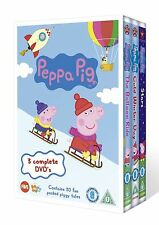 Peppa Pig Triple Balloon Ride, Cold Winter Day and Stars Brand New DVD