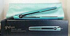 "GHD GOLD ATLANTIC JADE 1"" HAIR STRAIGHTENER FLAT IRON STYLER w/ BAG NIB"