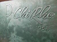 1958 Bishop Mcguinness Catholic High School Yearbook Oklahoma City Chi Rho