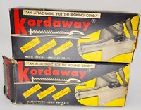 Lot of 2 Kordaway Vintage Attachment for the Ironing Cord Iron *See Description*