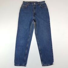 LEVIS Mens Denim Jeans 550 Relaxed Fit Tapered Leg Blue Size W29 L28.5