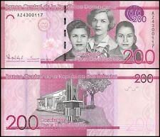 Dominican Republic 200 Pesos Dominicanos, 2015, P-185A, UNC