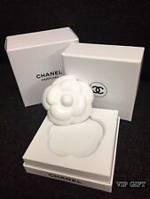 New CHANEL Ceramic Camellia Perfume Diffuser / Paper Weight New in Gift Box