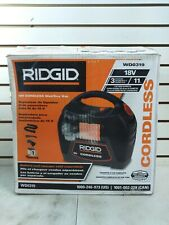 Ridgid Wd0319 Cordless Wet/Dry Vacuum Cleaner (Shelf 45-2)(J)