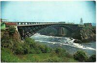 St. John New Brunswick Canada Postcard The Reversing Falls Bridge #75725