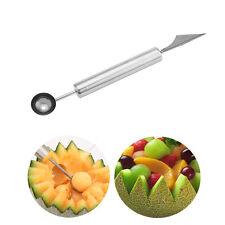 Obst Wassermelone Cantaloupe Cutter Scoop Löffel Dig Kugel Frucht Messer