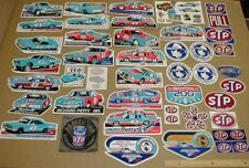 43 vtg lot STP Richard Petty Racing decal stickers Plymouth Dodge Son of a Gun
