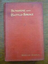 1907 Sunshine & BATTLE-SMOKE Glossop RUSSO-JAPANESE WAR Journalist JIU JITSU