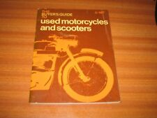 VINTAGE BUYER'S GUIDE TO USED MOTORCYCLES AND SCOOTERS BY F P HEATH