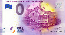 63 RIOM-ES-MONTAGNE Gentiane Express, 2020, Billet Euro Souvenir