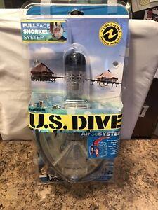 US Divers AirGo Fullface Snorkel System, Size Adult LARGE, L