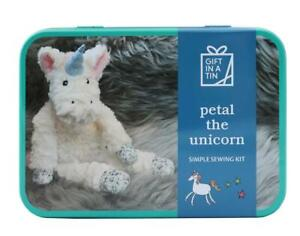 Sew your own Petal Unicorn, children's craft kit, learn to sew, gift